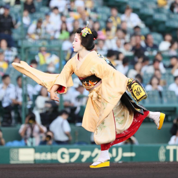 A Brief History of Japanese Baseball's Ceremonial Opening Pitch