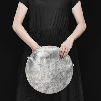 Planetario: a Series of Leather Bags that Mimic the Surface of the Moon