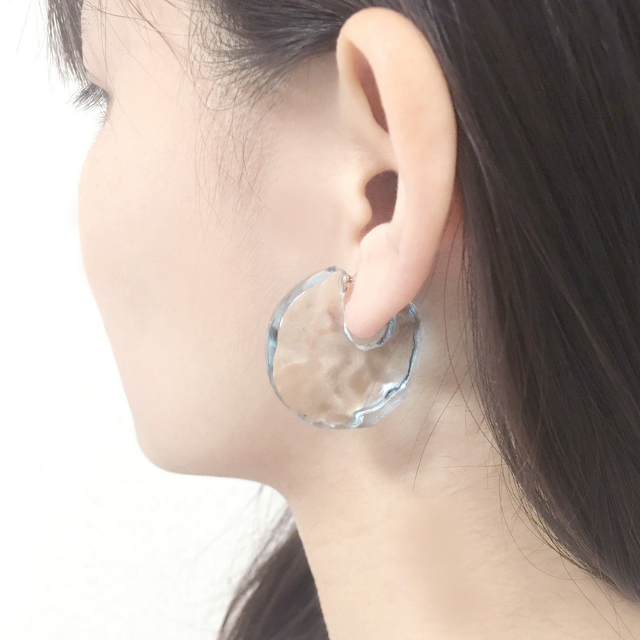 Water Surface Earrings Are The Perfect Summer Accessory Spoon Tamago