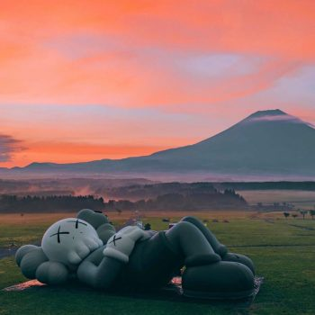 'KAWS:HOLIDAY' Lands in Japan at the Foot of Mount Fuji