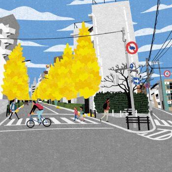 Autumnal Views of a Tokyo Suburb by Ryo Takemasa