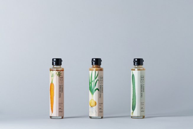 Branding for Hakko Seikatsu: a line of fermented vegetable products