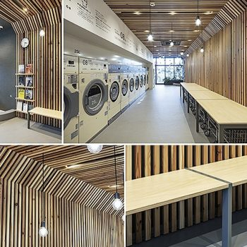 Winners of Japan's 2019 Laundromat of the Year Award