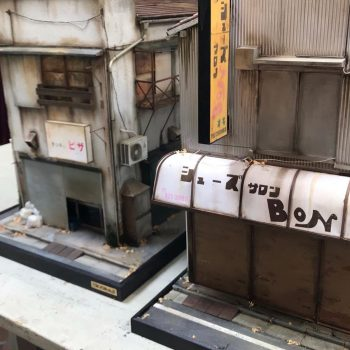 Decaying Tokyo Storefronts Re-Imagined in Miniature Scale