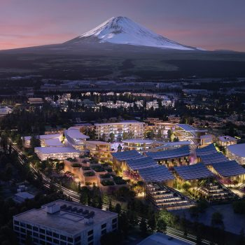 Toyota Plans to Build a Prototype Future City at the Foot of Mt. Fuji