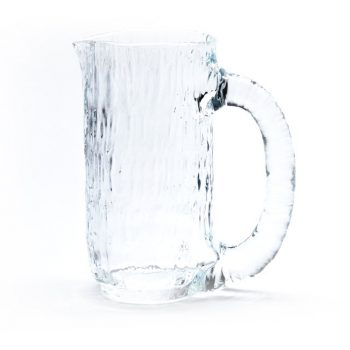 A Glass Jug That Looks Like Running Water Designed by Jin Kuramoto