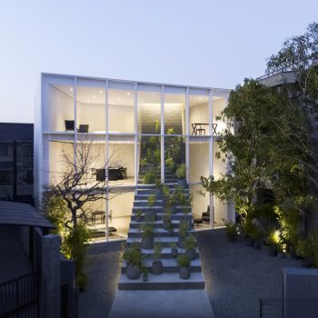 Nendo Designs a House in Japan with Stairs Running Through It