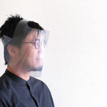 Eisuke Tachikawa Develops Ingenious Template to Create DIY Face Shields