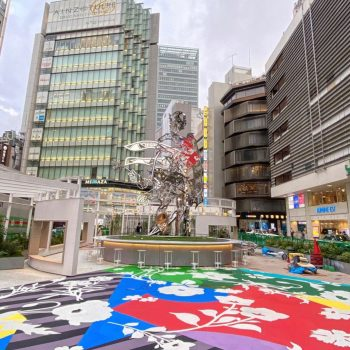 A New Public Art Installation Outside Shinjuku Station by Artist Tomokazu Matsuyama