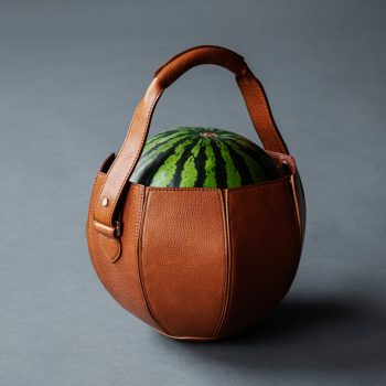 Tsuchiya Kaban Creates Leather Bag Specifically for Carrying Watermelon