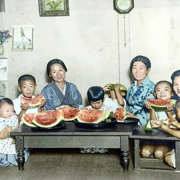 Colorized Photos of Hiroshima Show Daily Life Before the Atomic Bomb