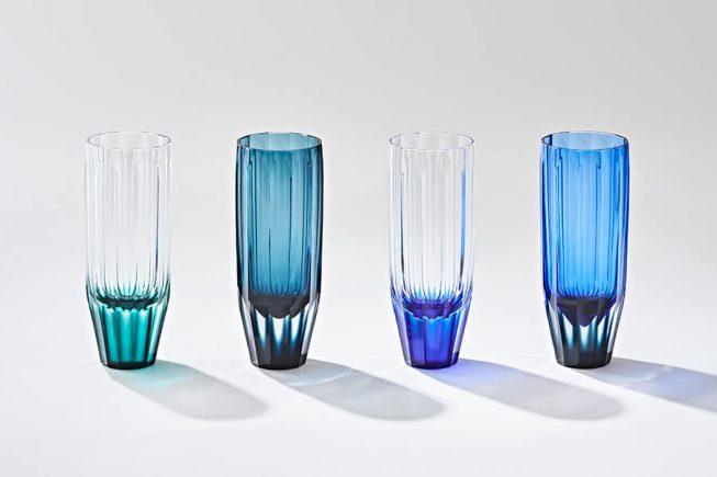 Sculptural Satsuma Kiriko Glasses Designed By Shizuka Tatsuno Spoon Tamago