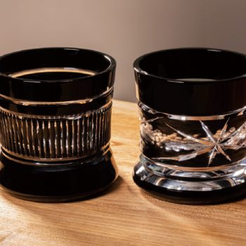 Canon Crafts Kiriko Glasses Inspired by the Camera Lens