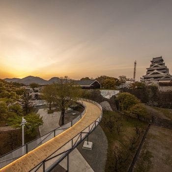 Observation Path Allows Public Viewing of Kumamoto Castle Restoration