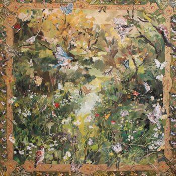 Seasonal Winds of Change Blow Through the Colorful Paintings of Ayune Shojima