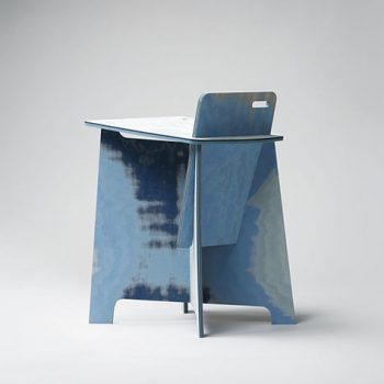 Stump Chair by Satoshi Itasaka Made Using Excess Fabric From the Fast Fashion Industry