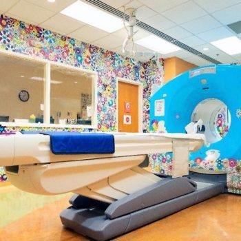 Takashi Murakami Installs Signature Flower Motifs at Children's National Hospital in Washington, DC