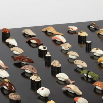 Sculpted Sushi Made Entirely From Natural Polished Stones