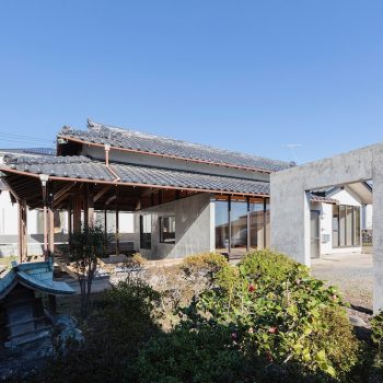 Reductive Architecture Reduces the Burden of Maintaining Large Japanese Townhouse