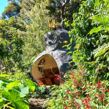 Film Prop Makers Built a Totoro-Themed 'Dream Studio' in the Blue Mountains of Australia