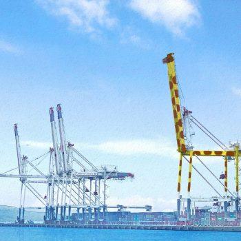 Fukuoka to Paint Giant Port Crane as Giraffe, Hopes it Will Cheer up Children in Hospital