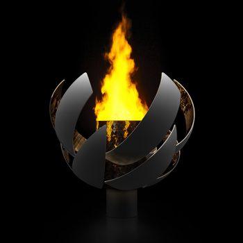 Hydrogen-Burning Tokyo Olympic Cauldron Designed by Nendo