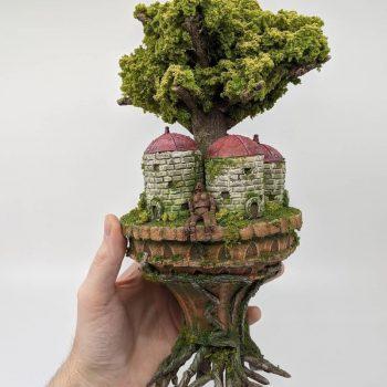 Studson Studio Transforms Trash into Magical Ghibli-Inspired Miniature Models