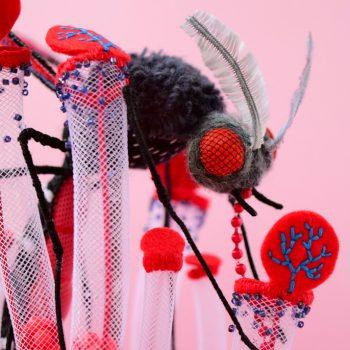 Creepy & Crawly Plush Sculptures by Hine Mizushima