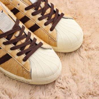 Furry Adidas Sneakers Pay Homage to Japan's Favorite Canine Hachiko