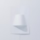 A Minimal Wall Lamp Made From a Single Sheet of Paper