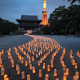 "3700 Candles Create a Tanabata ""Milky Way"" in Front of Tokyo Tower"